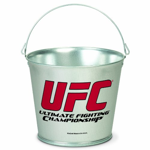 UFC Mixed Martial Arts  5 Quart Galvanized Pail