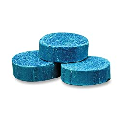 Genuine Joe GJO58333 Cherry Fragrance Non-Para Toss Block, Blue (Box of 12)