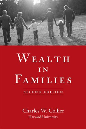 Wealth in Families, Charles W. Collier