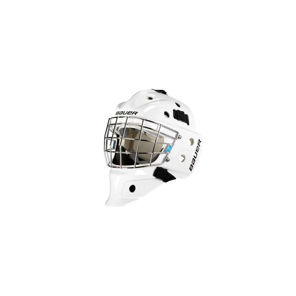 a11e124a526 Bauer NME 3 Goalie Mask SR White on PopScreen