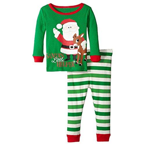 Little Sorrel - Bambino Natale Santa Alce - Ragazzi a maniche lunga Pigiama Xmas - 0-6 anni