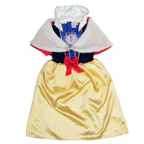 迪士尼 白雪公主梦幻冬季裙子 5-6岁 赠送发夹和爱丽儿公主手提袋各一