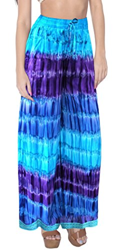 tiedye-palazzo-pants-lounge-wear-beachwear-elastic-waist-ankle-length-comfy-airy-baggy-trouser