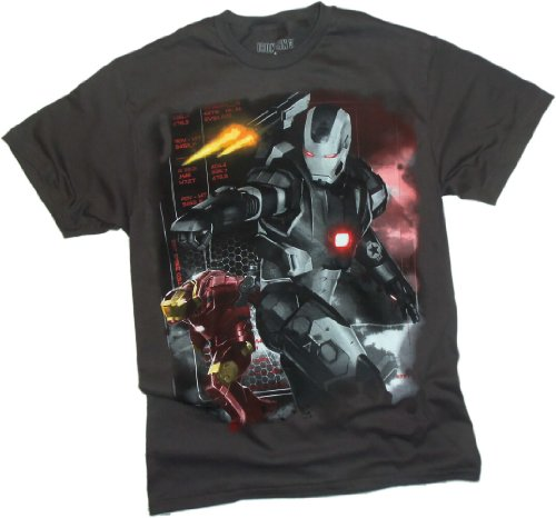 Machine Wars -- Iron Man 3 Movie T-Shirt