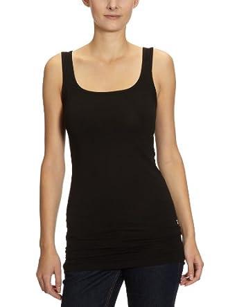 Vero Moda 10059323 - Débardeur - Uni - Sans manche - Femme - Noir (Black) - FR: 34 (Taille fabricant: XS)