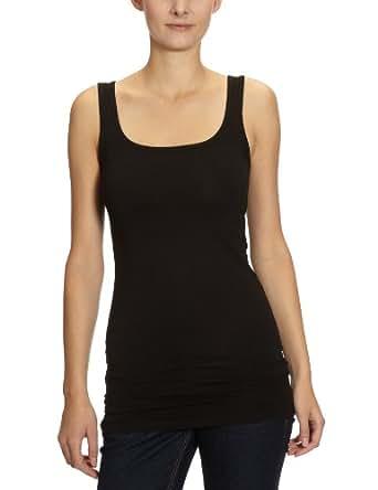 Vero Moda 10059323 - Débardeur - Uni - Sans manche - Femme - Noir (Black) -FR: 34 (Taille fabricant: XS) UK:6