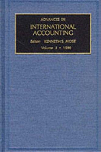 Advances in International Accounting: v. 3
