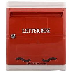 Lamba's PG01RW SDA Plastic Letterbox ( 280mm x 317mm x 77mm )