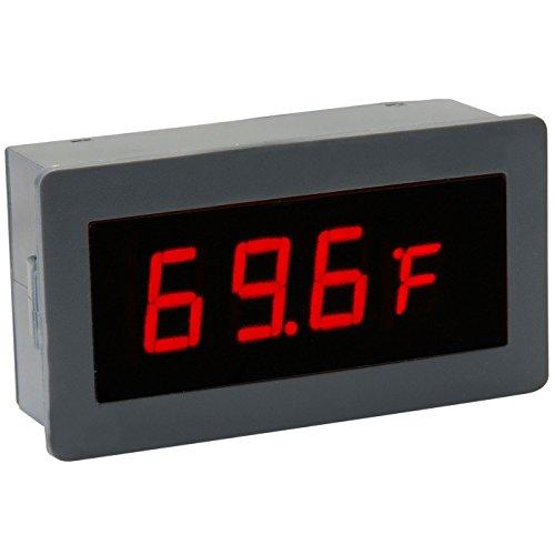 Red Led Temperature Display Dual External Sensors