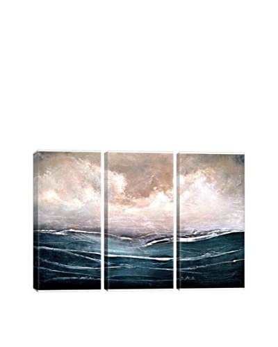 Heather Offord Set Sail Gallery Wrapped Canvas Print, Triptych