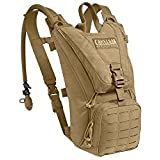 CamelBak Ambush Hydration Pack, Coyote Brown (62581), 2015 Model, with 100oz / 3.0L Mil-Spec Antidote Reservoir