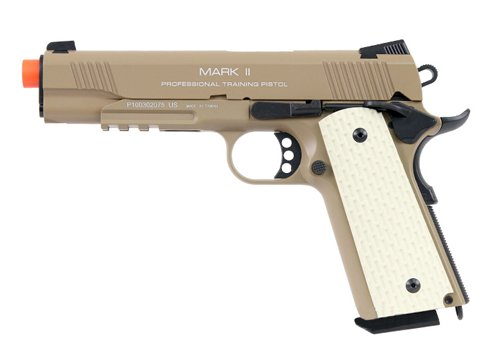 KWA Airsoft M1911 PTP MKII gas blow back pistol