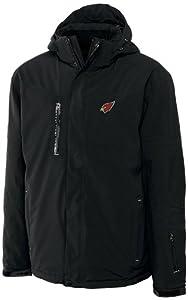 NFL Arizona Cardinals Mens CB WeatherTec Sanders Jacket, Black by Cutter & Buck