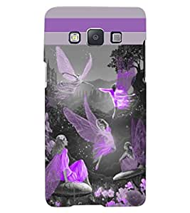 ColourCraft Dancing Angels Design Back Case Cover for SAMSUNG GALAXY A7