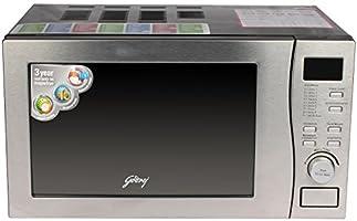 Godrej GMX20CA5MLZ 20-Litre 2200-Watt Convection Microwave Oven (Clear)