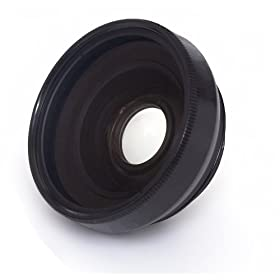 37mm 3 Piece Lens Filter Kit Digital Nc 3.0X High Grade Telephoto Lens for Sony HDR-CX550V + Nwv Direct Microfiber Cleaning Cloth