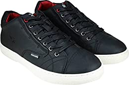 Flying Machine Sneakers Black B01N31HYFK