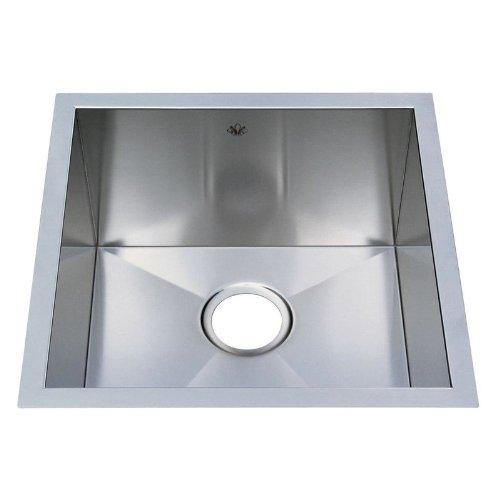 Artisan Chef Pro Undermount Stainless Stl 19X19X10 0-Hole 1 Bowl Kitchen Sink - Cpuz1919D10