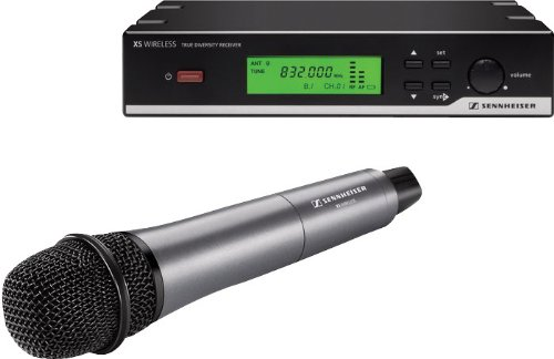 Sennheiser Xsw 65B Vocal Set Handheld Wireless Microphone System