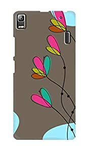 SWAG my CASE PRINTED BACK COVER FOR LENOVO K3 NOTE Multicolor
