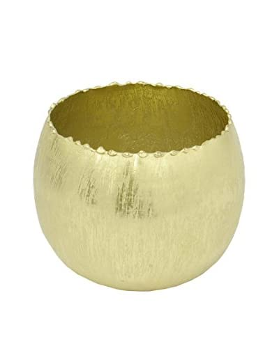 Three Hands Gold Metal Votive