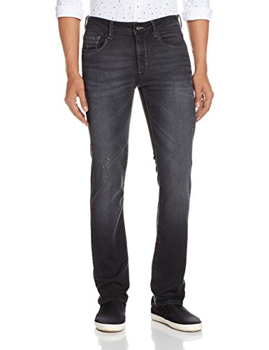 Flying-Machine-Mens-Michael-Tapered-Fit-Jeans-8907259693934FMJN366732Black