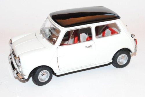 Mini Morris Cooper S MK1 1275S Weiss 1968 1/18 Kyosho Modell Auto