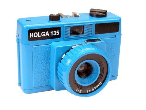 Cheap Holga 135 35mm Camera - Cyan