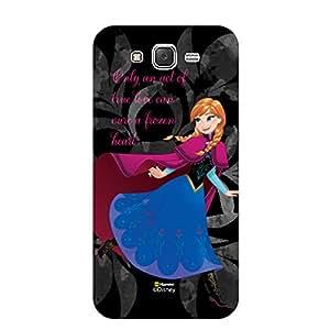 Hamee Marvel Samsung Galaxy J5 - 6 2016 Edition Case Cover Disney Princess Frozen (Elsa / Gray)
