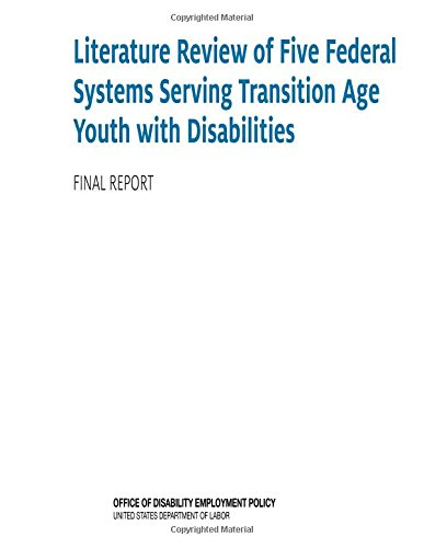Literature Review Of Five Federal Systems Serving Transition Age Youth With Disabilities