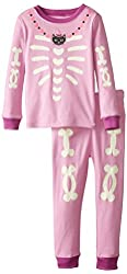The Children's Place Little Girls' Girls Skeleton Pajama Set