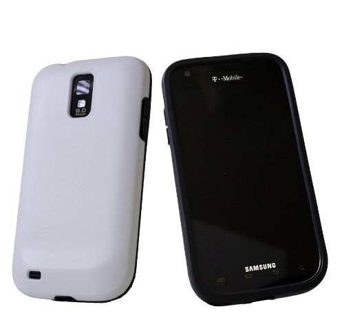 Galaxy S Ii (Sgh-T989) D3O® Dual Impact Protective Cover Case - White/Black