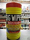Clarik 80 Big Wipes Industrial Plus Scrubs & Cleans Oily Hands