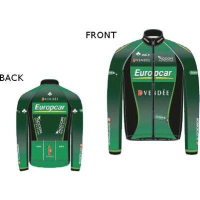 Image of Louis Garneau 2012/13 Men's Europcar Long Sleeve Cycling Jersey - 2823311 (B0092ALCGA)