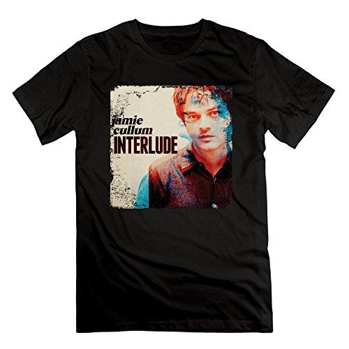 CEDAEI Jamie Cullum - Interlude Jazz Pop Singer Songwriter Men's Brand New T-shirt XL Black