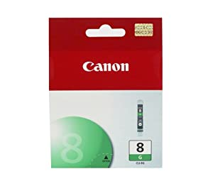 Canon Genuine CLI-8G Green Ink Tank