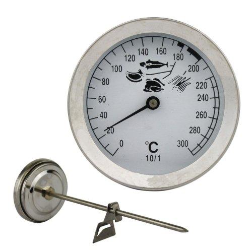 Edelstahl Friteusen - Öl - Fett Thermometer