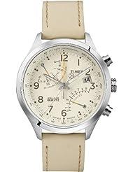 Timex Intelligent Quartz Analog Beige Dial Men's Watch - T2P382