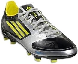 Adidas adiZero F30 TRX FG Soccer Cleats Shoe Black Lime silver Men