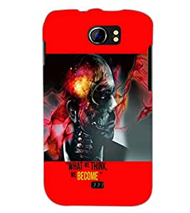 PrintDhaba Quote D-5944 Back Case Cover for MICROMAX A110 CANVAS 2 (Multi-Coloured)
