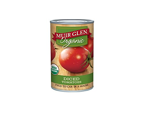 Muir Glen Organic Tomatoes, Diced, 14.5-Ounce Cans (Pack of 12) (Tomato Diced Can compare prices)