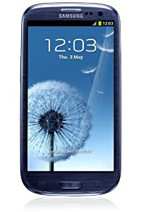 Samsung GT-I9305RWDDBT Galaxy S III Smartphone LTE, Display Super AMOLED da 12.2 cm (4.8 Pollici), Fotocamera 8 Megapixel, Full HD, HDMI, Android 4.1, Colore Blu [Importato da Germania] from Samsung