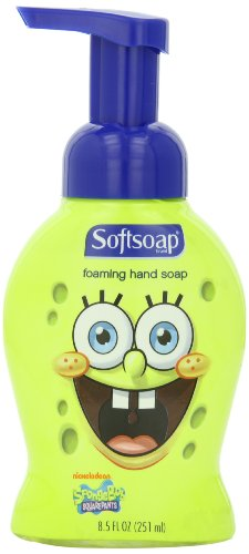 Softsoap Foamworks Liquid Hand Soap, Pump, Spongebob Squarepants, 8.50-Ounce - 1