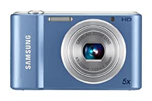 Samsung ST66 Compact Digital Camera - Blue (16.1MP, 5x Optical Zoom) 2.7 LCD
