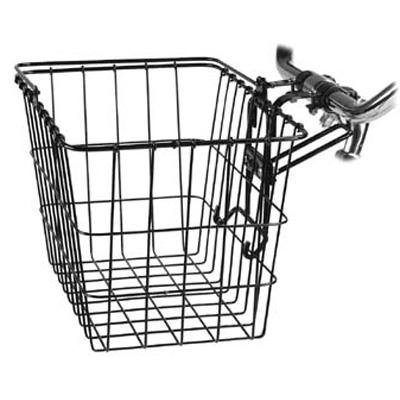 Wald 3133 Q-R Bolt-On Front Handlebar Bike Basket