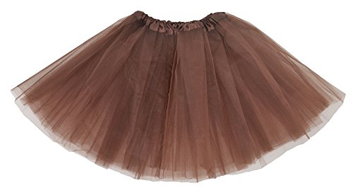 Simplicity-Womens-Classic-Elastic-3-layered-Tulle-Tutu-Skirt