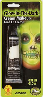 Rubie's Costume Co Glow In Dark Cream Makeup