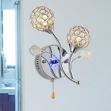 moderne, la lumiššre menšŠe de mur en cristal conception 220-240v