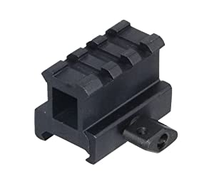 UTG High Profile Riser Mount with 3 slots