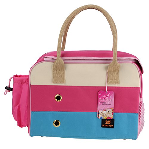 Pet Carrier Soft Sided Small Rabbit/Cat/Dog/Pet Comfort Travel Tote Bag Hand bag Airline Approved (Small)